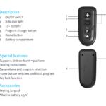 Unitron_Remote_control_details